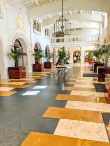 Boca resort lobby