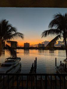 Boca Raton Florida sunset