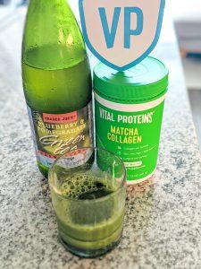 Vital Proteins green tea matcha collagen powder
