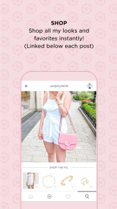 how to shop in the LikeToKnow.it app