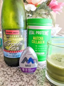 Vital Proteins matcha collagen drink recipe