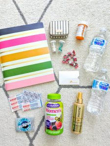 Items to back when you travel