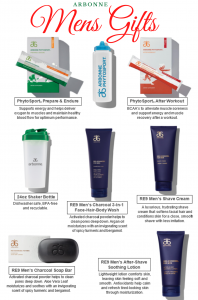 Arbonne gift ideas guide for men