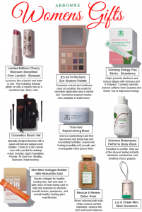 Arbonne gift ideas guide for women