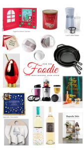 Christmas gift ideas for foodie cook hostess