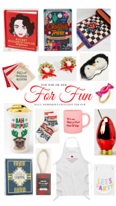 Christmas gift ideas for fun and humor