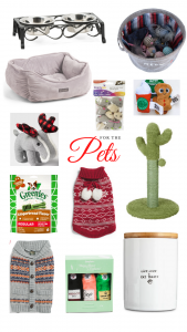 Christmas gift ideas for pets