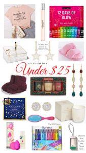 christmas gift ideas under 25