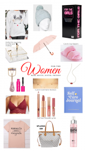 womens gift guide gift ideas