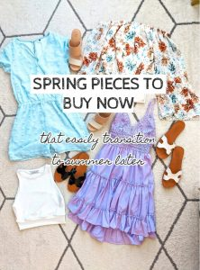 spring to summer fashion pieces