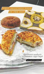 Einstein Bagels Farmhouse Sandwich