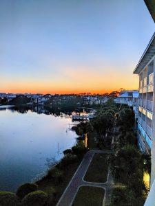 Carillon Beach Resort Inn sunset
