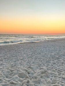 Rosemary Beach Florida sunset