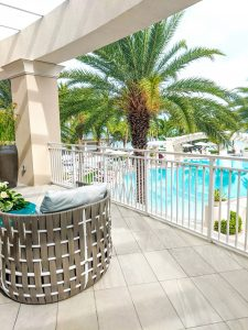 Playa Largo Balcony Pool View